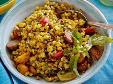Charred corn salad Minnesota Food vomFASS Mall of America