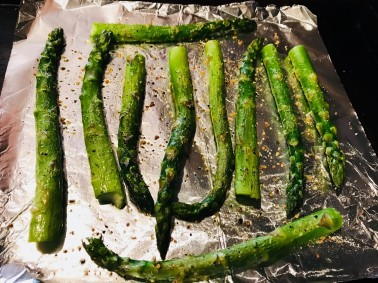 Asparagus Grilled Vegetarian vomFASS Mall of America