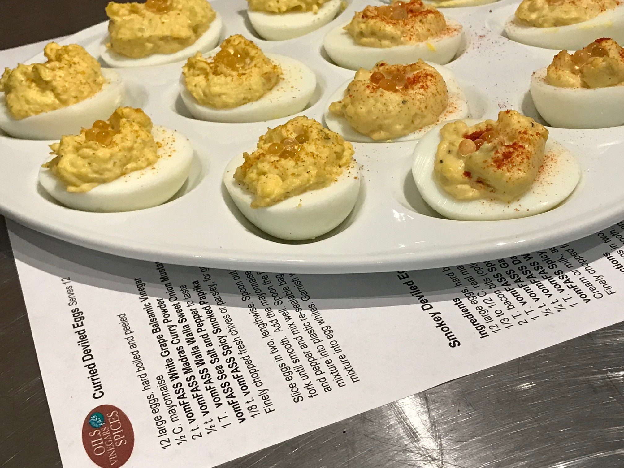 deviled eggs Easter vomFASS Mall of America Minnesota Food