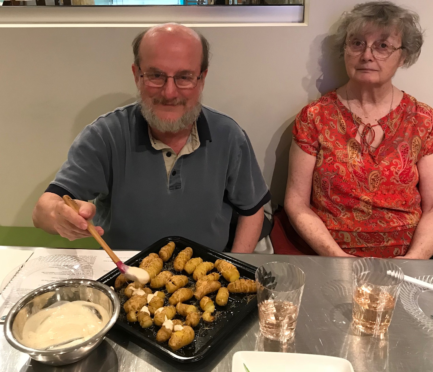 Tapas Cooking Class Potatoes Tom vomFASS Mall of America