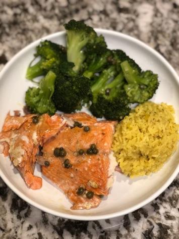 Salmon Broccoli Rice Meal vomFASS Mall of America